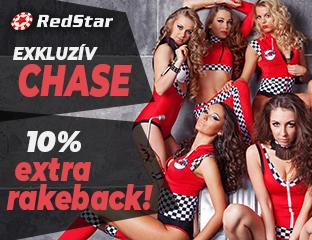 RedStar Poker - exkluzív rake chase - 2020. október 1-31.