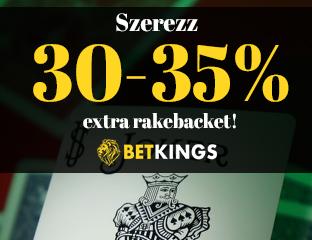 Betkings - exkluzív rake chase - 2020. október 1-31.