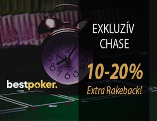 Bestpoker - exkluzív rake chase - 2020. október 1-31.