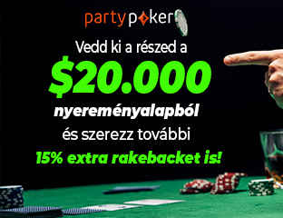 partypoker - $20,000 - exkluzív cash race - 2020. november 1-30.