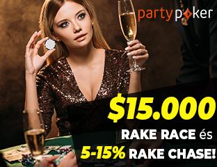 partypoker - $15,000 - exkluzív cash race - 2021. január 1-31.