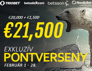 Betsson Poker - Microgaming - pooled point chase - 2017. február 1-28.