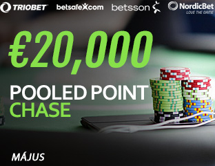Betsson Poker - Microgaming - pooled point chase - 2017. május 1-31.