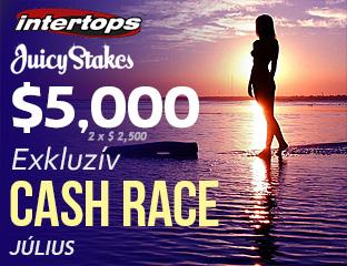 Intertops Poker - $2,500 - exkluzív rake race - 2017. július 16-31.