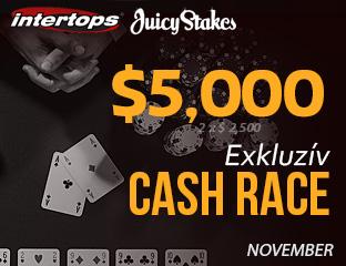 Intertops Poker - $2,500 - exkluzív rake race - 2017. november 16-30.