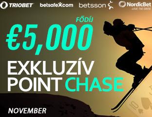 Betsson Poker - Microgaming - exkluzív point chase - 2017. november 1-30.